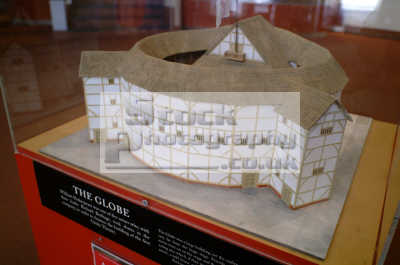 model globe theatre close-up close up closeup theatres theatrical buildings architecture london capital england english uk shakespeare play plays playhouse literary southwark cockney angleterre inghilterra inglaterra united kingdom british
