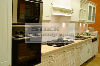 kitchen fitted appliances kitchens cooking interiors inside british housing houses homes dwellings abode architecture architectural buildings uk comfort comfortable modern tidy designer furniture oven home style earls court kensington chelsea london cockney england english angleterre inghilterra inglaterra united kingdom