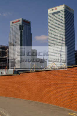 canary wharf hsbc citygroup buildings e14 docklands docks famous sights london capital england english uk office blocks multinational corporations business financial banking urban regeneration tower hamlets cockney angleterre inghilterra inglaterra united kingdom british