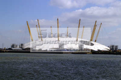 millenium dome thames isle dogs e14 y2k famous sights london capital england english uk greenwich cockney angleterre inghilterra inglaterra united kingdom british
