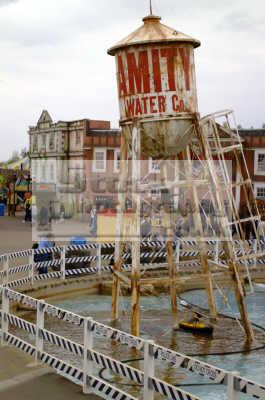 thorpe park amity water tower uk theme parks amusement tourist attractions leisure surrey england english angleterre inghilterra inglaterra united kingdom british